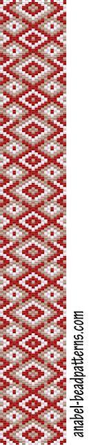 peyote pattern scheme mosaic beading bracelets