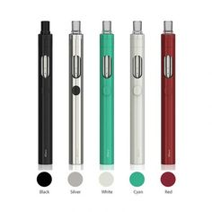 Eleaf iCare 160 Starter Kit features an inbuilt tank by Eleaf. The iCare 160 can light up with seven colors for you to choose from: indigo, green, blue, red, purple, yellow and white, and the light can also be turned off.