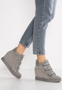 Steve Madden - LOGAAN - High-top trainers - taupe