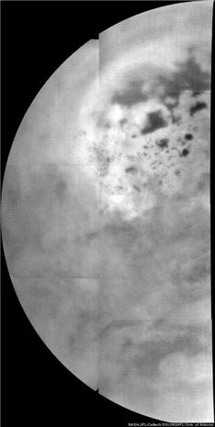 Lakes On Saturn's Moon Titan Spotted By NASA's Cassini Probe. Titan more closely resembles Earth than any other planet or moon in our solar system, with a dense atmosphere and stable liquids on its surface. But Titan's clouds, lakes and rain are made up of hydrocarbons, such as ethane and methane, rather than water.