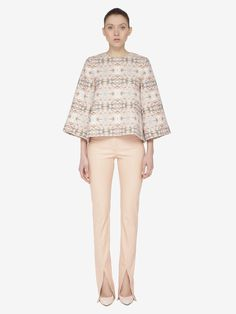 Front Split 542 Trousers | Fashion & Lifestyle for tall women | tall clothing | tall style | tall ootd | long arms | long legs | tall clothes Trousers Fashion, Tall Clothing, Tall Women, Long Pants, Long Legs, Arms, Bell Sleeve Top, Product Launch, Ootd