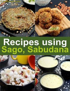 Learn about traditional indian food here. Sabudana Recipes, Sago Recipes, Paneer Recipes, Indian Food Recipes, Gourmet Recipes, Vegetarian Recipes, Cooking Recipes, Healthy Recipes, Indian Foods