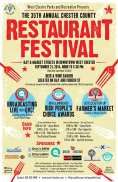 West Chester County Restaurant Festival (2014)