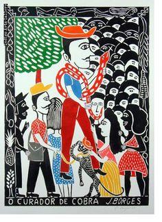 José Francisco Borges | Indigo Arts Artist At Work, Folk Art, Literature, Prints, Mermaids, Indigo, Plates, Tattoo, Google Search