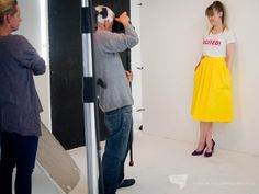 Our girl boss in Cosmo Boss Lady, Girl Boss, Our Girl, Cosmos, High Waisted Skirt, Yellow, Skirts, Pants, Blog