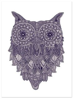 Beautiful illustrations made by Claire Scully over at The Quiet Revolution. So rich in details – love 'em. Via Sharesomecandy Buho Tattoo, Quiet Revolution, Owl Always Love You, Wise Owl, Owl Print, Scully, Illustrations, Cool Artwork, Doodle Art