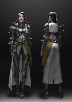 Fantasy Concept Art, Fantasy Armor, Medieval Fantasy, Female Character Design, Character Design Inspiration, Character Art, Character Ideas, Fantasy Characters, Female Characters