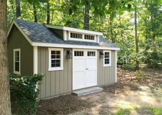 She Shed Ideas   Our New Amish Built Storage Shed Promises To Solve Our  Garage Disorganization And Our Backyard Landscaping Issues While Creating  Great ...