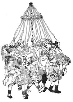 Dancing around the Maypole - Knick of Time