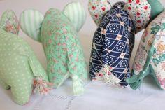 DIY Doudou Éléphant {avec patron} – Les Enchantées Elephant Stuffed Animal, Sewing Stuffed Animals, Stuffed Animal Patterns, Sewing Projects, Projects To Try, Elephant Nursery, Diy Toys, Baby Love, Diy And Crafts