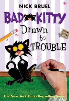 J FIC BRU. Author/illustrator Nick Bruel tries to explain to the reader how to write a story, but Bad Kitty is not at all happy about the plot, which has her going on a turnip diet to lose weight. Includes a recipe for roasted turnips.