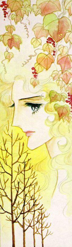 Orpheus no Mado by Riyoko Ikeda Illustrations, Shoujo, Manga Art, Illusions, Book Art, Anime, Retro, Artwork, Painting