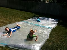 "Utah County Mom: Giant ""water bed"" outside sensory bag"