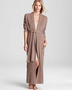 Arlotta Cashmere Robe | Bloomingdale's in Grey $430
