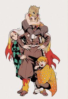 Manga Anime, Anime Demon, Anime Art, Slayer Meme, Demon Slayer, Familia Anime, Anime Lindo, Estilo Anime, Demon Hunter