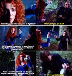 Merida, Rumple & The Chipped Cup