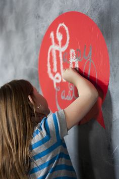 Silhouette America Blog | Easy Easter Chalk Art by creating a stencil with your Silhouette