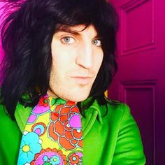 22 Reasons You Secretly Fancy Noel Fielding Prince Girl, The Mighty Boosh, Russell Brand, Noel Fielding, My Vibe, Beautiful Creatures, Pretty People, Comedians, Style Icons