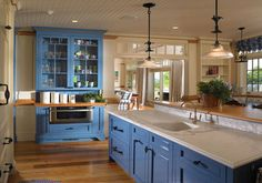 Beige & Blue Design Ideas, Pictures, Remodel, and Decor - page 15