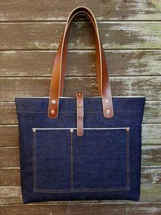 Backyard Denim's latest Tote bag   Keep Fronting