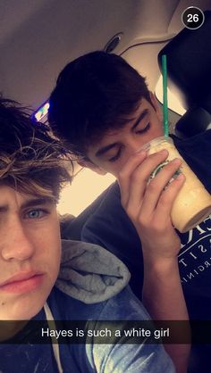 HAYES GRIER and NASH GRIER Luv u guys!!!:') Hayes you need to be my white girl with this white girl. Agree ok.