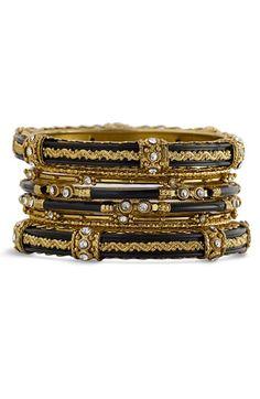 handcrafted bangle set
