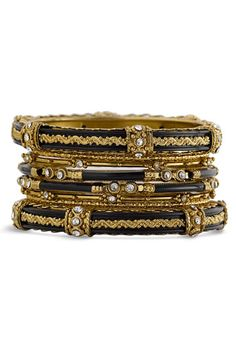 Spring Street 'India' Bangles (Set of 8) available at #Nordstrom I NEED THESE!!!!
