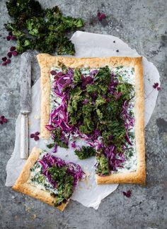 gronkal gronkalspaj ricottapaj vego vegetarisk paj