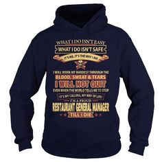 RESTAURANT-GENERAL-MANAGER T-Shirts, Hoodies (35.99$ ==► Order Here!)