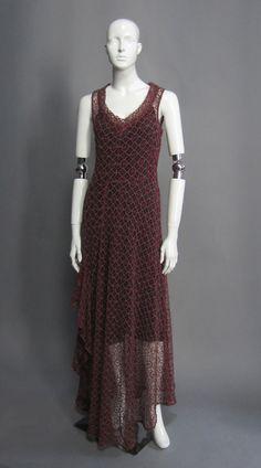 DRIES VAN NOTEN Lace Gown