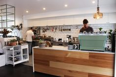 Clancy's Espresso is a cute coffee nook housed in an old weatherboard-clad cottage on the corner of Wynnum Road Things To Do In Brisbane, Coffee Nook, Shop Counter, Cafe Shop, Coffee Drinks, Room Interior, Norman, Espresso, Kitchen