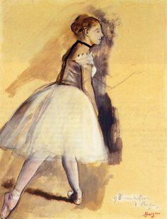 Dancer Standing (study) - Edgar Degas -