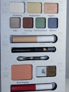 E.L.F. Snow White Beauty Book Palette #disney #makeup #snowwhite