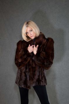 The standard in warmth, comfort, and luxury – #mink fur is a reliable, ideal choice of fur you should wear. Mink coats and mink hats traditionally are the fashionable fur of choice to provide essential warmth and comfort during the winter season.