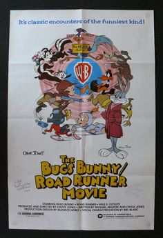 BUGS BUNNY / ROAD RUNNER MOVIE, THE movie poster film poster one sheet 1979