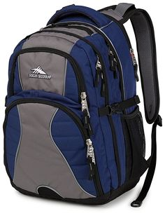 High Sierra Swerve Pack (Navy/Charcoal/Black) * For more information, visit now : Day backpacks