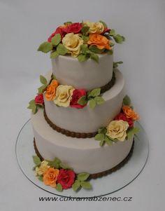 Autumn wedding cake - Cake by Renata
