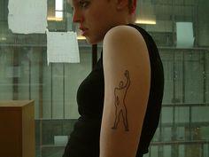 Le Corbusier tattoo