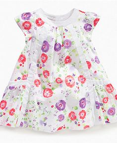 First Impressions Baby Dress, Baby Girls Floral Dress - Kids Baby Girl (0-24 months) - Macy's