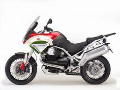 Moto Guzzi Stelvio Tricolore by Luca Bar