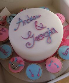 Father and Daughter joint birthday do Cake e Cupcake Pinterest