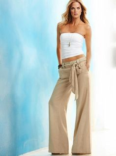 I like these linen pants ..... in a different color