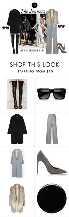 """Steal Her Style"" by cielonewton on Polyvore featuring moda, Jeffrey Campbell, Donna Karan, ADAM, Zara, Yves Saint Laurent, River Island y Deborah Lippmann"