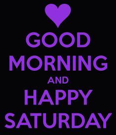 ....Good morning!