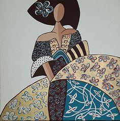 Art Plastique, Art Girl, Decoupage, Minnie Mouse, Disney Characters, Fictional Characters, Art Deco, Collage, 1