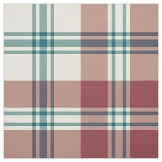 Heffalumps Red, Deep Blue, Beige Plaid Pattern: up to $27.95 per yard - http://www.zazzle.com/heffalumps_red_deep_blue_beige_plaid_pattern-256726046791830753?rf=238041988035411422&tc=pintw