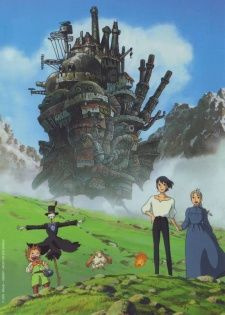 Howl's Moving Castle. Great movie from studio Ghibli. Same people who made Totoro.