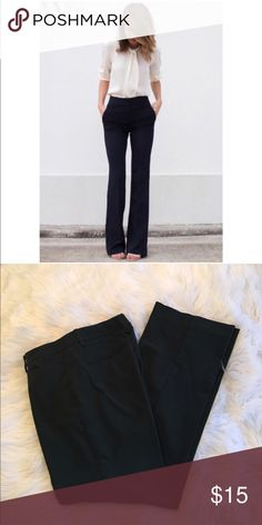 Professional Black Slacks Work week chić! These have been very well taken care of.  Always dry cleaned. Perfect for your 9-5 or dress it up for a classic chić evening look. Namaste New York & Company Pants Trousers