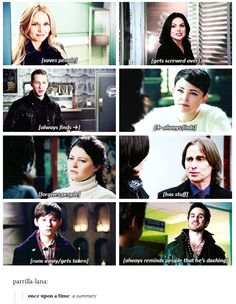 Once Upon A Time:  A Summary