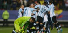 Penalties Argentina vs Colombia 27/06/2015 Highlights Copa America Chile 2015